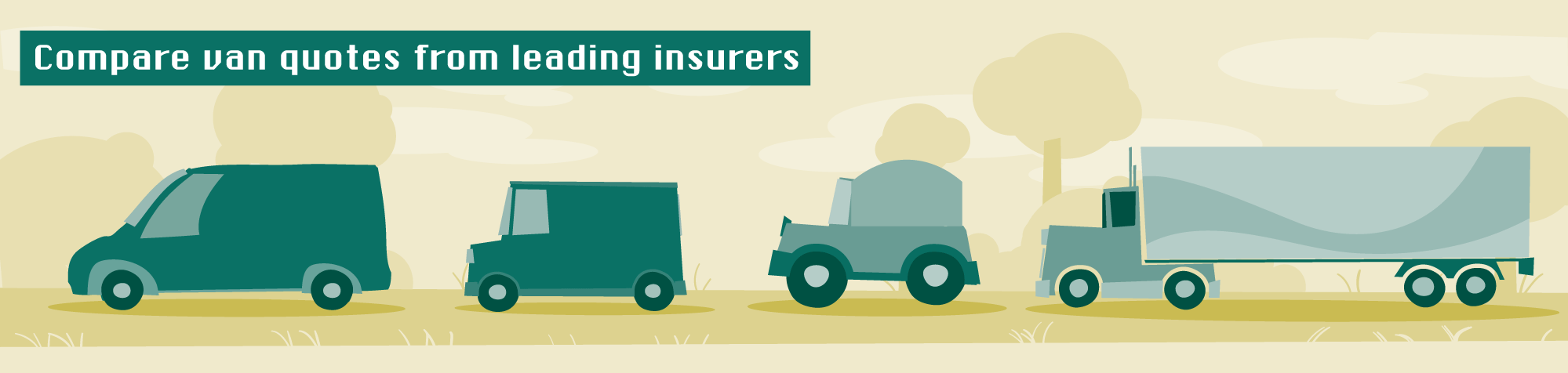 Compare van quotes from leading insurers